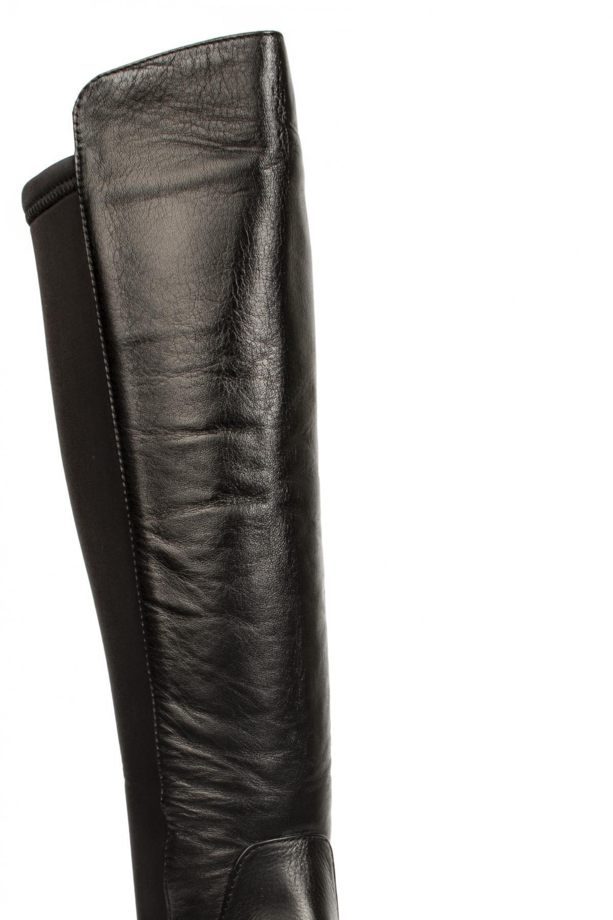 Mammamia Kadın Siyah Deri Çizme D20kc-2040 2