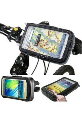 TeknoArmy Su Geçirmez Motosiklet Bisiklet Telefon Tutucu