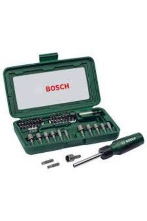 Bosch 46 Parça Cırcırlı Tornavida Bıts Uç Lokma Vidalama Seti