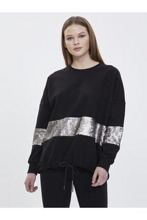 Loft Kadın Sweatshirt - Siyah