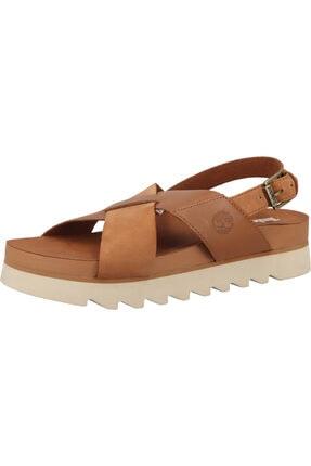 Timberland Kadın Kahverengi Sandalet