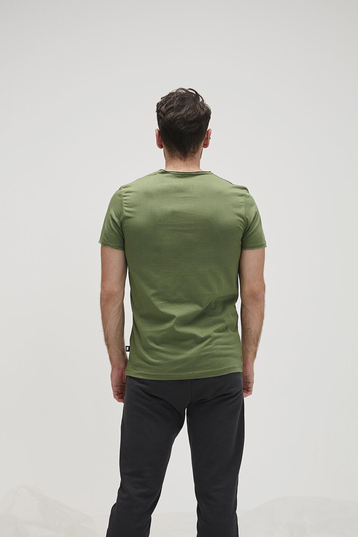 Bad Bear Tıme To Travel Tee Yeşil Kısa Kollu Tişört 2