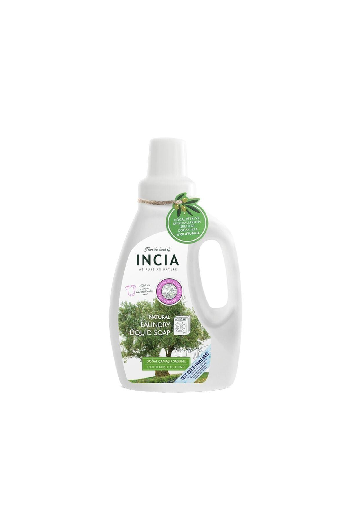Incia Doğal Çamaşır Makinesi Sabunu 750ml 1
