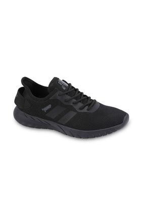 Jump Unisex Siyah Günlük Spor Ayakkabı 24853