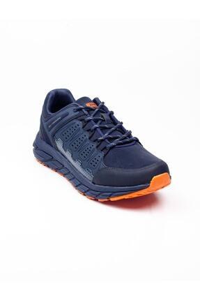 Jump Erkek Lacivert Turuncu Spor Ayakkabı 25673 B