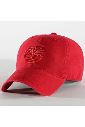 Timberland A1e9m Kırmızı Şapka