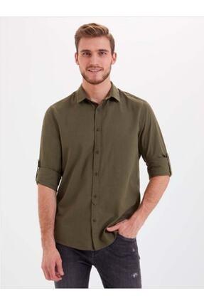 Loft Lf2010395 Erkek Gömlek Khakı