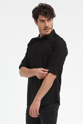 Loft Erkek Gömlek Black Lf2010395