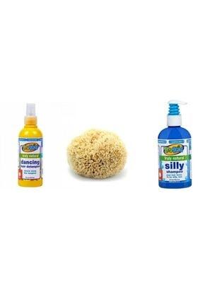 Trukid 3'lü Banyo Bakım Seti ( Doğal Saç Şampuanı - Banyo Süngeri - Saç Açıcı Sprey )