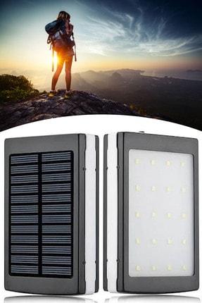 Chermik Solar Powerbank Güneş Enerjili 18.000mah 20 Power Led Işık Su Geçirmez