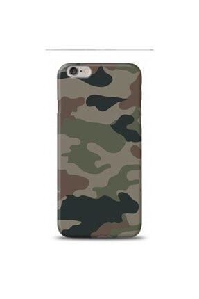 EXCLUSIVE Apple Iphone 6 Plus Asker Kamuflaj Desenli Kılıf