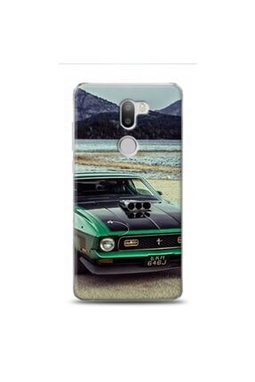 EXCLUSIVE Xiaomi Mi 5s Plus Mustang Green Sports Car Desenli Kılıf