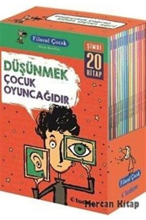 Tudem Yayınları Filozof Çocuk Serisi Set 20 Kitap Takım - Oscar Brenifier