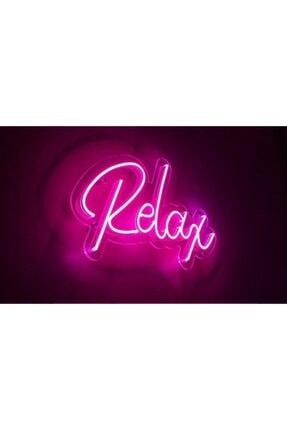 Renova Reklam Neon Led Relax Yazılı, Pleksi Levha