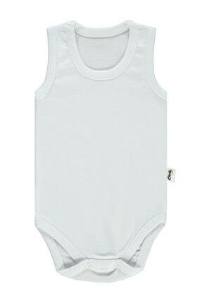 Civil Baby Unisex Bebek Beyaz Çıtçıtlı Body