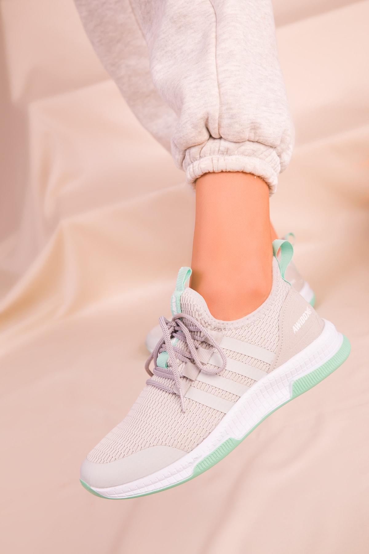 SOHO Buz-Yesil Kadın Sneaker 15195