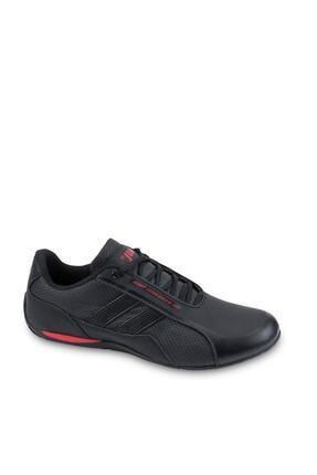 Jump Erkek Siyah Kırmızı Günlük Spor Ayakkabı -45 24860
