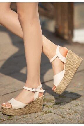 ESPARDİLE Krem Cilt Dolgu Topuk Sandalet