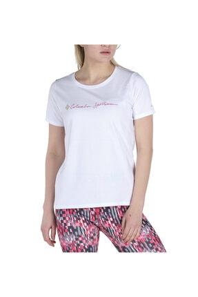 Columbia Csc Cursive Logo Graphic Kısa Kollu Kadın T-shirt