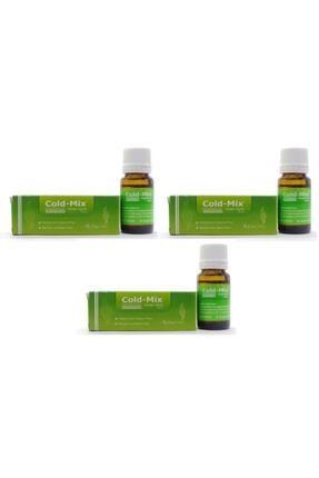 Cold-Mix Inhaler Damla 10 ml x 3 Adet