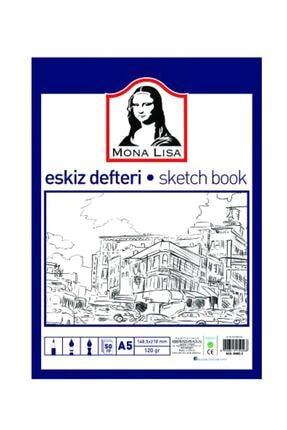 Südor Mona Lisa Eskiz Defteri Sketch Book A5 120 gr. 50 Yp