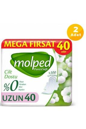 Molped Pure&soft Hijyenik Ped Uzun Mega Fırsat 80 Adet