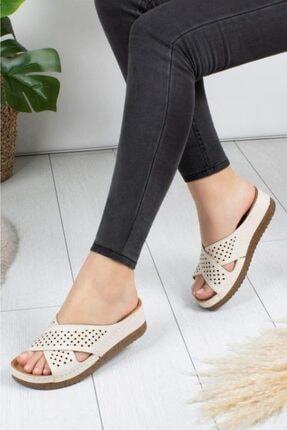 ROYJONES Terlik Modelleri Kadın Anatomik Sandalet Terlik 3025