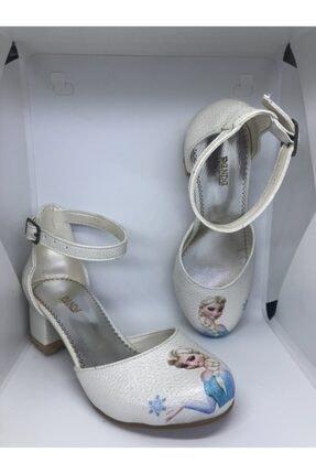 Panda Shoes Kız Çocuk Sedef Elsa Topuklu Ayakkabı