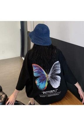 Köstebek Unisex Siyah Batter - Fly T-shirt
