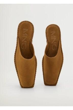 MANGO Woman Kadın Kahverengi Casual Ayakkabı