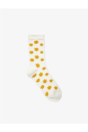 Koton Desenli Çorap