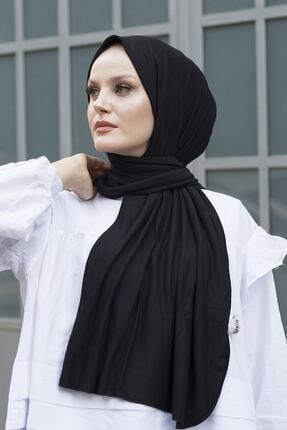 Stella Kadın Penye Şal Siyah
