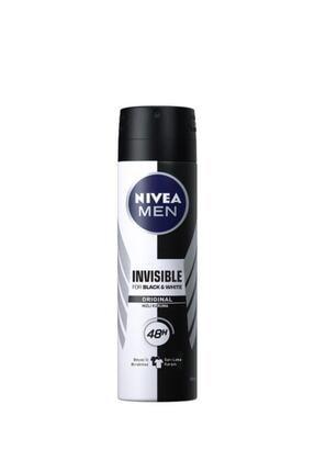 Nivea Invisible Black&White Erkek Deodorant 150 ml