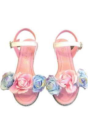 Baby DS Flowers Topuklu Ayakkabı