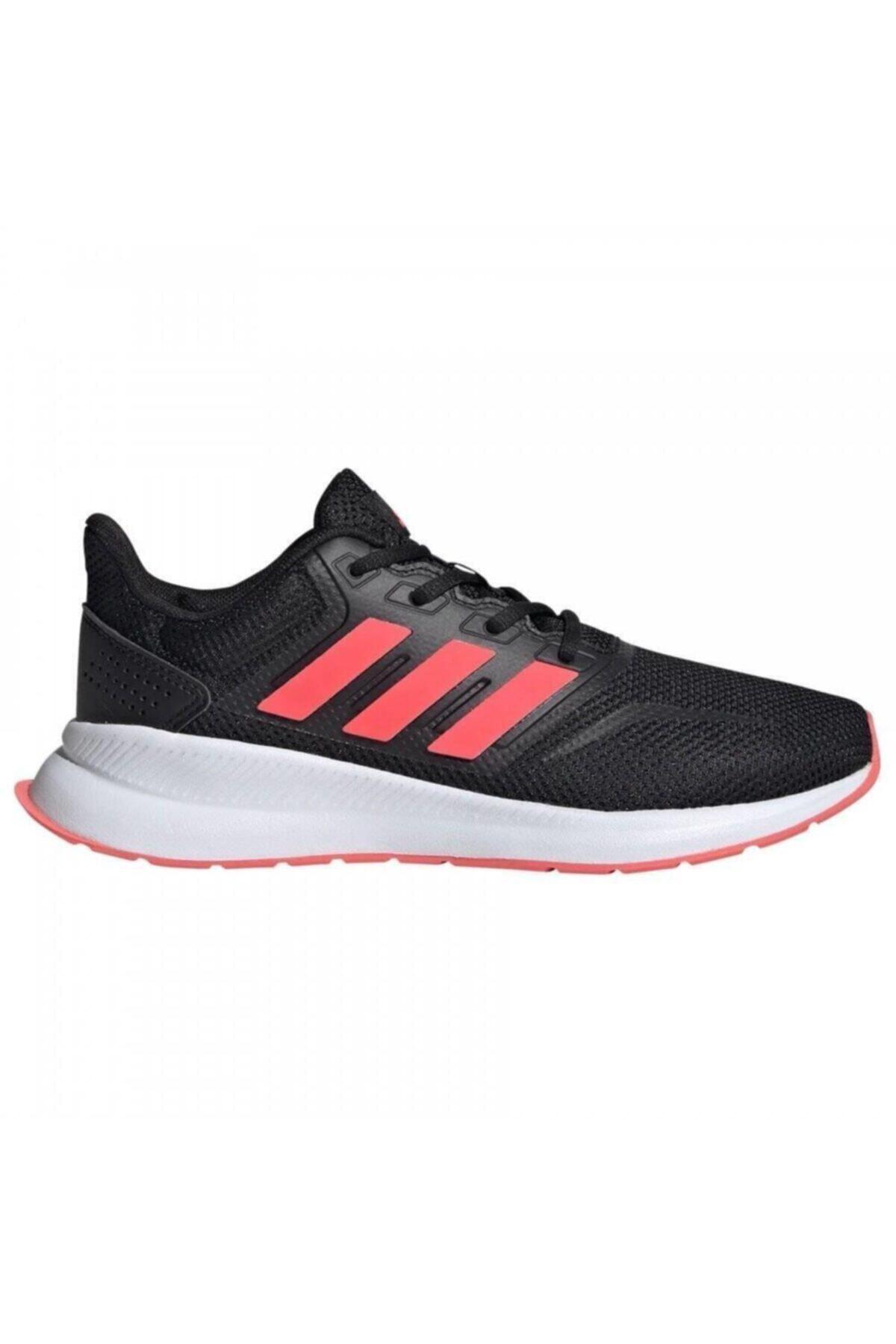 adidas RUNFALCON K Siyah Kız Çocuk Koşu Ayakkabısı 100663822 1