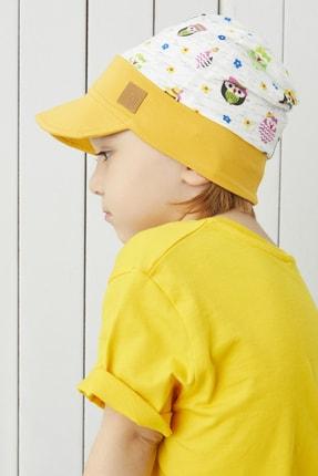 Babygiz %100 Pamuklu El Yapımı Ekstra Yumuşak Erkek Kız Bebek Çocuk Vizyerli 4 Mevsim Penye Şapka