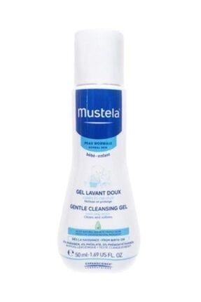 Mustela Gentle Cleansing Gel Bebek Şampuanı  50 Ml