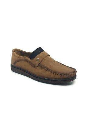 Taşpınar Erkek Üçlü Hakiki Deri Bağsız Yazlık Tam Rok Rahat Streçli Ayakkabı 39-45