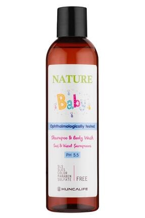 Huncalife Nature Baby Saç Ve Vücut Şampuanı 350 ml 8690973721082
