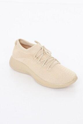 BGK Kadın Bej Comfort Çorap Ayakkabı