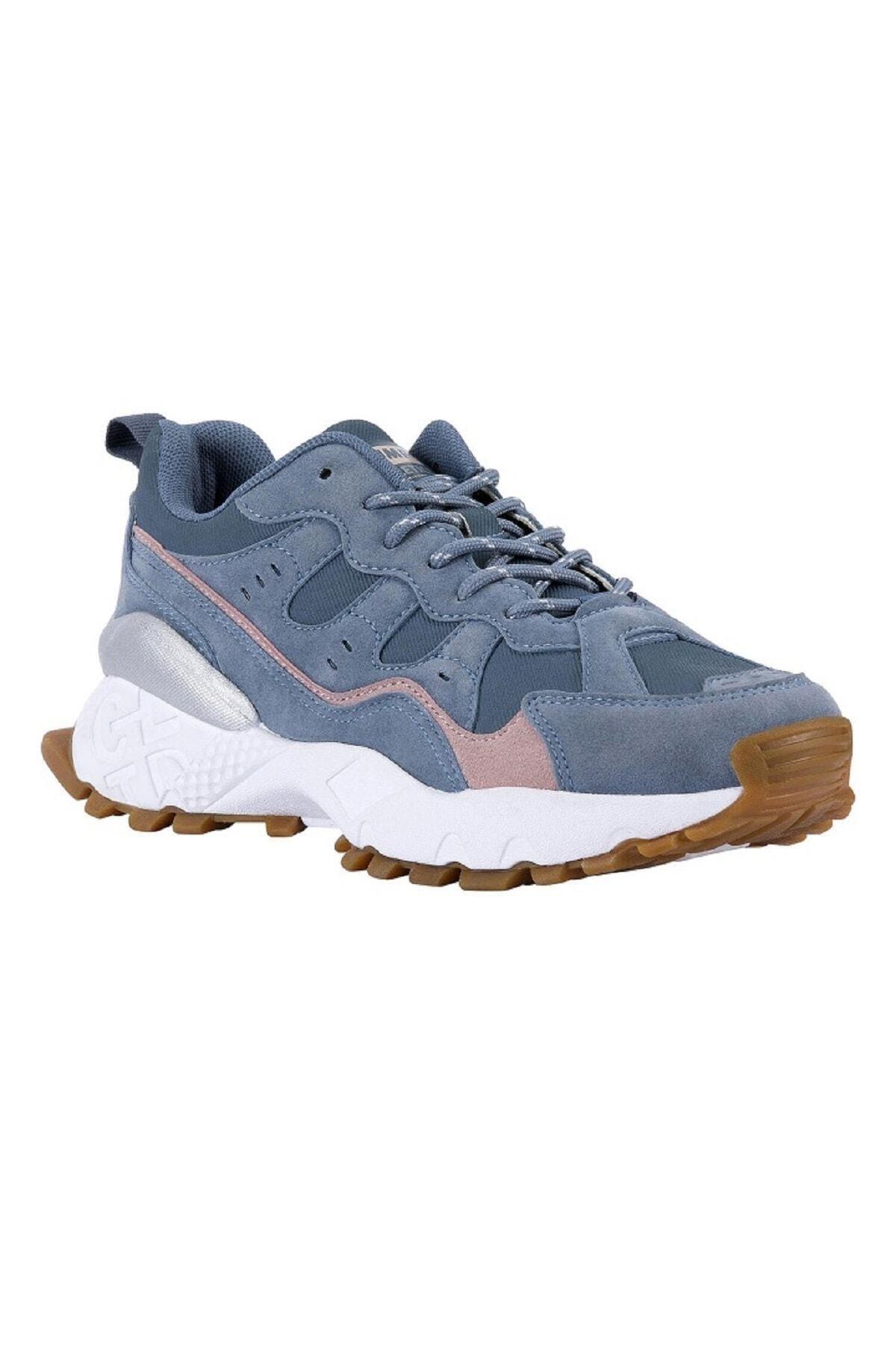 Jump 25760 Kadın Outdoor Spor Ayakkabı Mavi 2