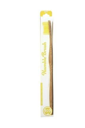 Humble Brush Sarı Yumuşak Yetişkin Diş Fırçası