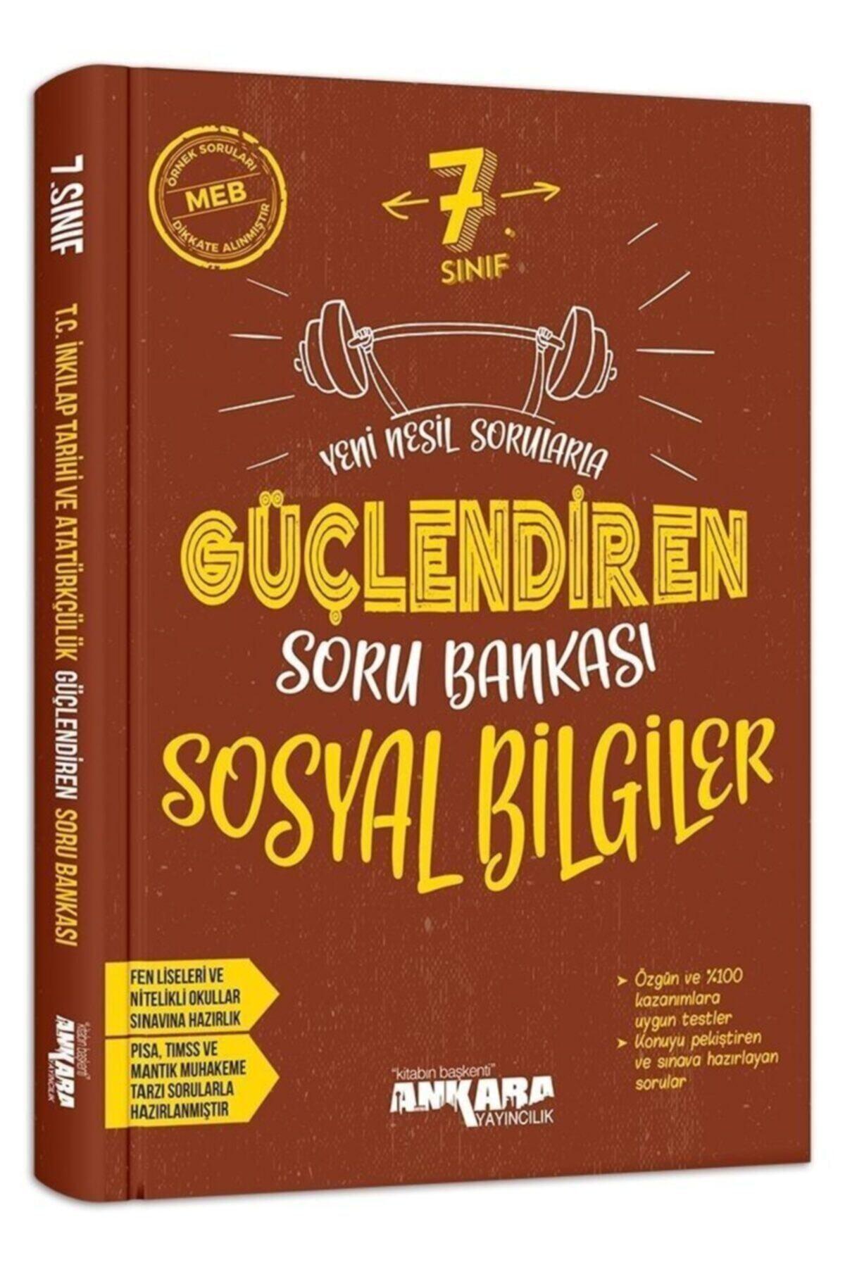 Ankara Yayıncılık 7. Sınıf Sosyal Bilgiler Güçlendiren Soru Bankası 1