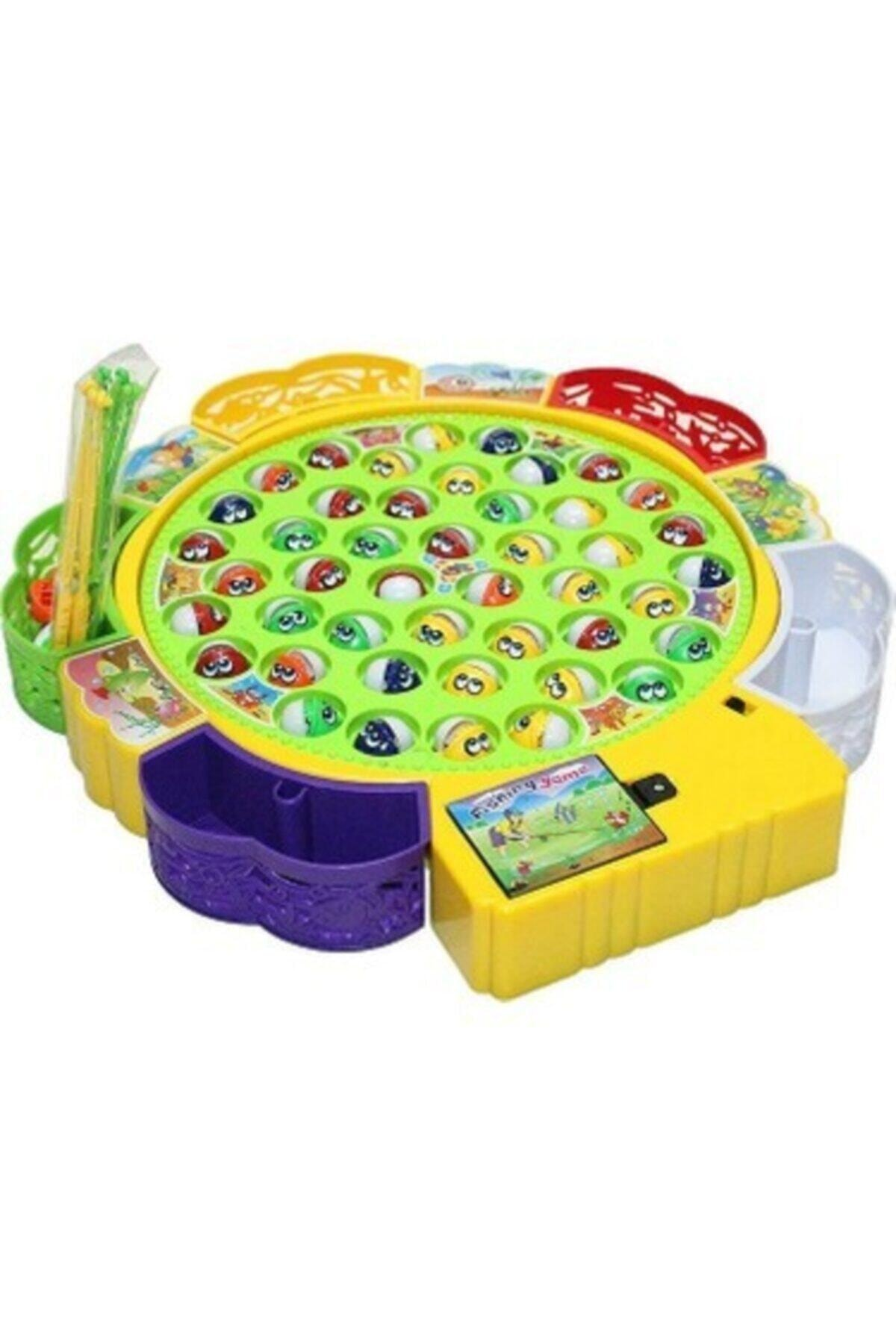 Toys e Toys Müzikli Balık Tutma Ve Yakalama Oyuncak Seti Pilli 1