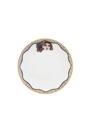 Karaca Zeugma Beyaz 19 Cm Pasta Tabağı