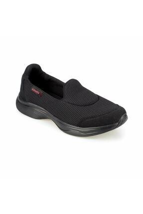 Kinetix Aida Siyah Kadın Comfort Spor Ayakkabı