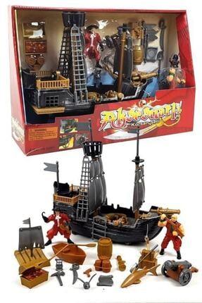 Vardem Korsan Oyun Seti Gemi 30 Parça Aksesuarlı Oyuncak Set Pc1911