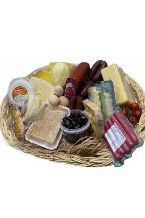 ÇubukOvası Yöresel Ürün Sepeti 1 ( Balıkesir Sepet Peyniri, Mut Koyun Kaşarı, Ezine Keçi Peyniri, Hatay Yayık Tereyağı)