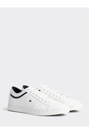 Tommy Hilfiger Erkek Beyaz Essential Spor Ayakkabı Fm02681-ybs