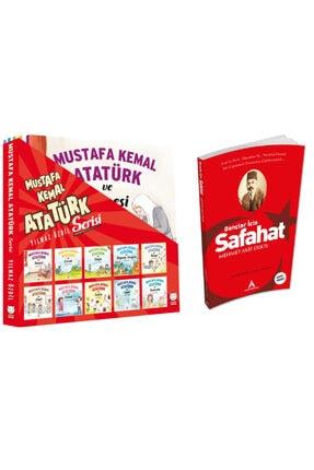Kırmızı Kedi Yayınevi Mustafa Kemal Atatürk Serisi 10 Kitap  Gençler İçin Safahat